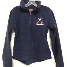VIRGINIA 1/4 Zip Fleece Jacket New Size Womens M