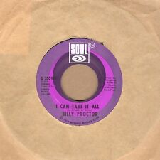 Billy Proctor - I Can Take It All - Soul Soul Northern Crossover Motown Tmg Rare