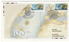 Canada FDC Sc # 1649a Joint Issue With Italy