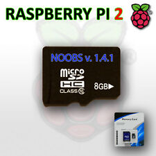 8Gb Micro SD CARD Class 10 Pre Installed with NOOBS for Raspberry Pi 2