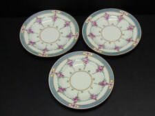 "Minton PERSIAN ROSE (Older) Bread & Butter Plates 6 1/8"" / Set of 3"