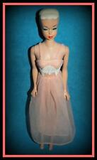 VTG BARBIE DOLL #1669 OUTFIT DREAMLAND PEACH NEGLIGEE NIGHTY NIGHT SHEER GOWN