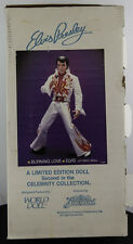 "ELVIS PRESLEY BURNING LOVE DOLL GRACELAND 21"" WORLD DOLL NEW"