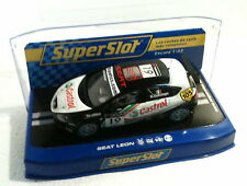 qq H 2912 SUPERSLOT SEAT LEON R. COLCIAGO No19 CASTROL  - Scalextric UK -