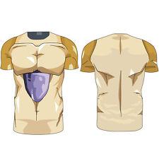 Dragon Ball Z Anime Japan T-Shirt 3D Goku Super Saiyan Kai DBZ Vegeta Sport Tops
