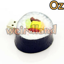 Sushi USB Stick, 16GB Quality 3D USB Flash Drives WeirdLand
