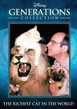 The Richest Cat in the World - DVD - MOD - Walt Disney - 1986