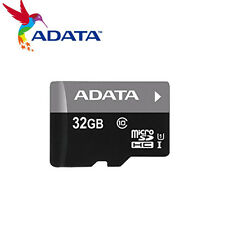 10x ADATA 32GB MicroSD SD Card SDHC Class10 TF Flash Memory Card- AUSDH32GUICL10