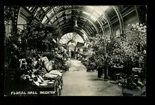 Sussex BRIGHTON Floral Hall Used 1930 RP PPC