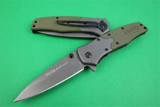 SOG Blade Outdoor Survival Tool Stainless Steel co Pocket Folding Knife Saber