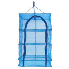 40x40x65cm 4 Layers Vegetable Fish Dishes Mesh Hanging Drying Net Durable Y G4F6