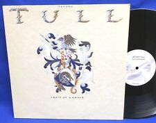 LP JETHRO TULL - CREST OF KNAVE // GERMAN CHRYSALIS