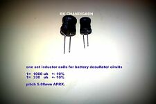 1000uH and 330uh Inductor  coil for Battery Desulfator/ Desulphater/ Rejuvenator
