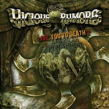 VICIOUS RUMORS - LIVE YOU TO DEATH 2-AMERICAN PUNISHMENT  CD NEU