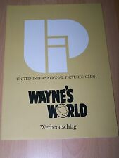 WAYNE´S WORLD - Werberatschlag ´92 - MIKE MYERS Rob Lowe
