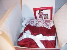 American Girl Samantha's Cranberry Holiday Dress Retired BNIB Doll Not Included