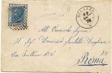 P5354    Messina, MILAZZO, numerale a punti 1876