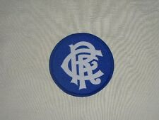 GLASGOW RANGERS FOOTBALL CLUB NEW RETRO EMBLEM SEW ON PATCH SCOTLAND SOCCER SPFL