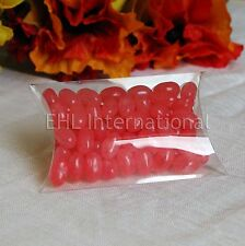 50pcs Clear Wedding Party Favor Candy Pillow Box Baby Bridal Shower