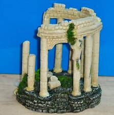 Ancient Ruins Roman Columns Ornament Air Bubbler Decoration Aquarium Fish Tank