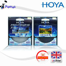 Hoya 77mm PRO1 DIGITAL Circular Polarizzatore CPL & UV Multi-Coated Lens Filter Kit