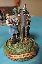 "FRANKLIN MINT WIZARD OF OZ  MUSICAL GLOBE "" MY GOODNESS I CAN TALK AGAIN ""  **"