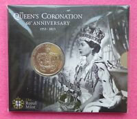 2013 ROYAL MINT HM THE QUEEN'S CORONATION 60TH ANN  FIVE POUNDS £5 BU COIN PACK