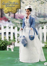 Flower Show, Annie's Southern Belle Collection crochet patterns fit Barbie dolls