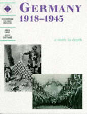 NEW Germany 1918-1945: A Depth Study by Greg Lacey Paperback Book FREE SHIPPING!