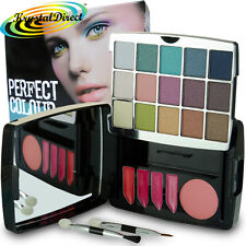 The Look Make Up Eye Lip & Cheek Palette Blusher Shadow Lipstick Gift Set
