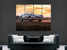 MERCEDES 300 SL VINTAGE CLASSIC CAR  GIANT WALL POSTER  PICTURE PRINT LARGE HUGE