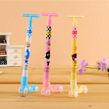 1× Scooter Ball Pen Novelty Kids Toys School Office Gift Cute Cartoon Stationery