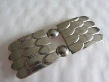 Ancienne boucle de ceinture en métal époque art déco Réf 11517