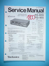 Service-Manual für Technics RS-B55/RS-955  Tape Deck ,ORIGINAL