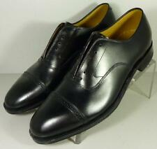 249908569  Men's Shoes Size 12 C/A Black Leather Aristocraft Johnston Murphy