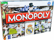 Monopoly OFFICIAL REAL MADRID CF 2016 Soccer Football Board Game Ronaldo Bale