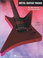 NEW Metal Guitar Tricks [With CD (Audio)] by Troy Stetina Paperback Book (Englis