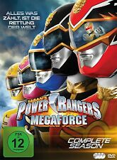 POWER RANGERS - MEGAFORCE-DIE KOMPLETTE SERIE 3 DVD NEU