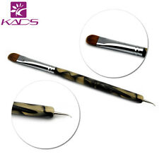 100% Kolinsky Sable Brush 2 way Acrylic UV Gel Nail Art Builder Brush Pen Set