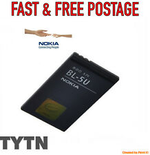 GENUINE NOKIA (BL-5U NEW) BATTERY FOR NOKIA 8900i 8800E 8900E * UK SELLER *