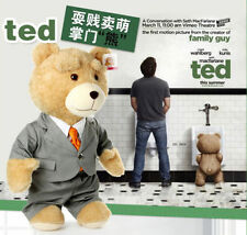 24'' New Plush Teddy Bear Movie Ted with cloth Men's Ted bear Toy
