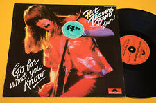PAT TRAVERS BAND LP GO FOR WHAT YOU KNOW-TOP HARD ROCK METAL ORIG 1979