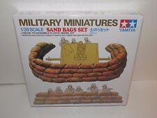 Tamiya Military Miniatures 1:35 Sand Bags Set #35025 NIB