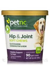 Dog Hip and Joint Soft Chews - 90 Tablets - Mobility Support for Dogs