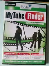 SAD My Tube Finder – Die Webclip-Suchmaschine, CD-Rom, OVP