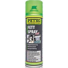Petec Fettspray 500 ml weiß Schmierfett Spraydose Sprühfett