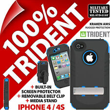 Nouveau Trident Kraken AMS protection robuste coque rigide case cover pour iPhone 4/4S