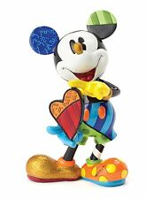 Disney by Britto Mickey Mouse Art Piece Figurine NEW in Gift Box  27300