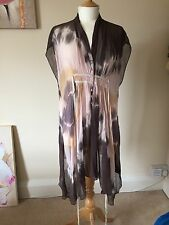 Ladies, All Saints Zambi Beach Dress, 100% Silk, Spitalfields, Size 8