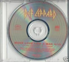 DEF LEPPARD MAKE LOVE LIKE A MAN USA PROMO ONE TRACK CD SINGLE 1992